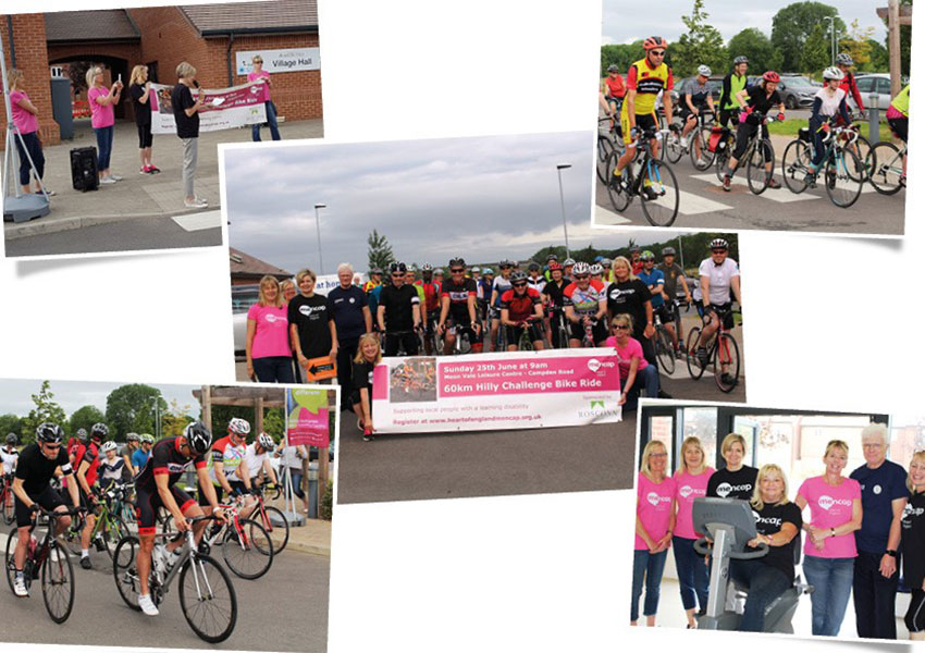 News - Group - Hilly Challenge Bike Ride 2017