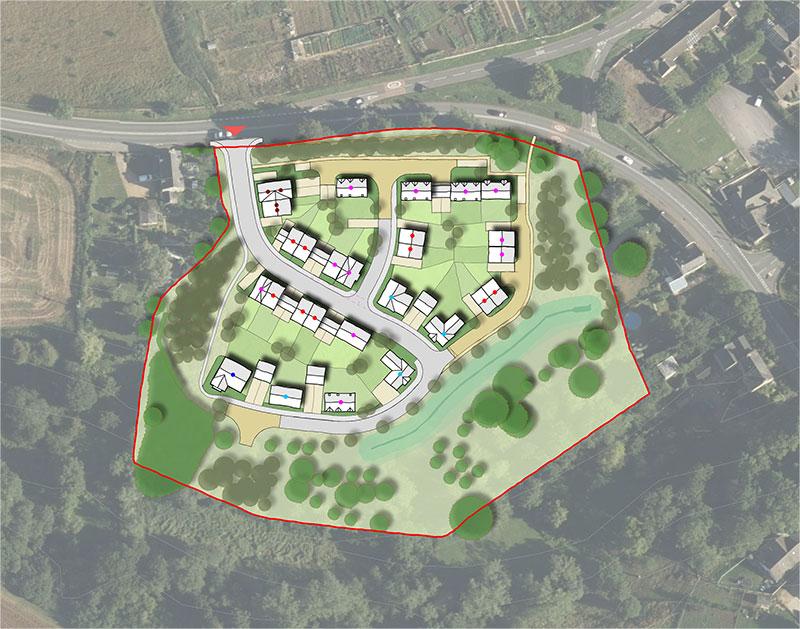 Enstone Site Plan