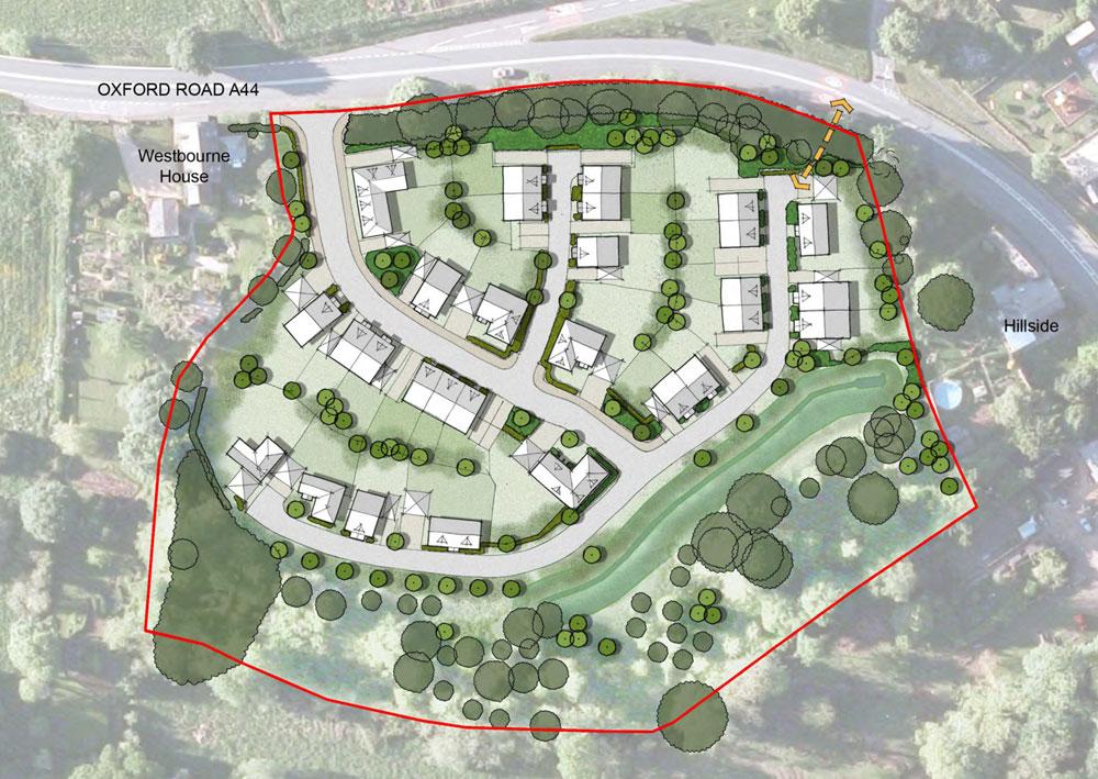 Rosconn Strategic Land - Enstone Plan 1