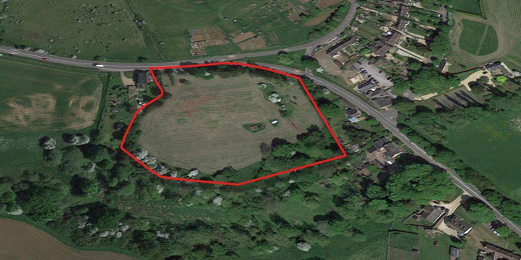 Rosconn Strategic Land Enstone Redline Site Image