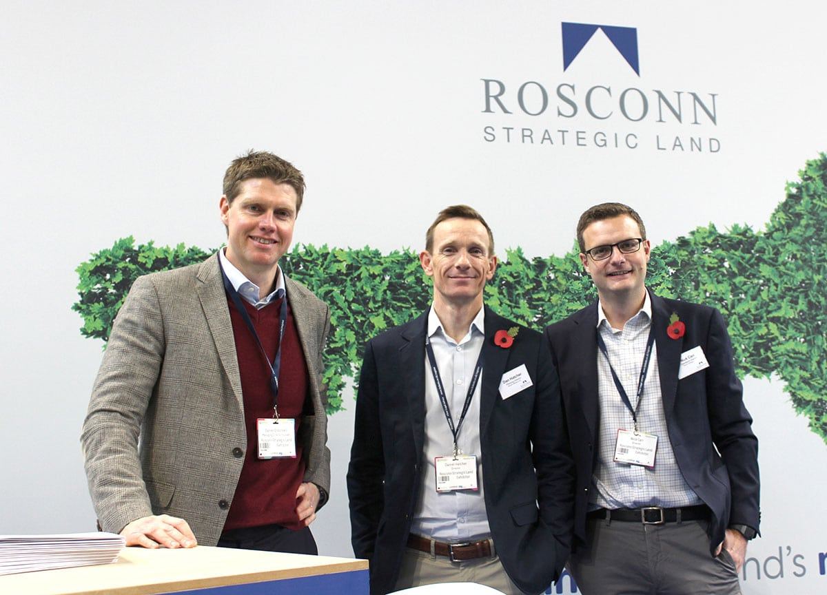 Rosconn Strategic Land -Daniel O'Donnell, Dan Ahtcher, Nick Carr