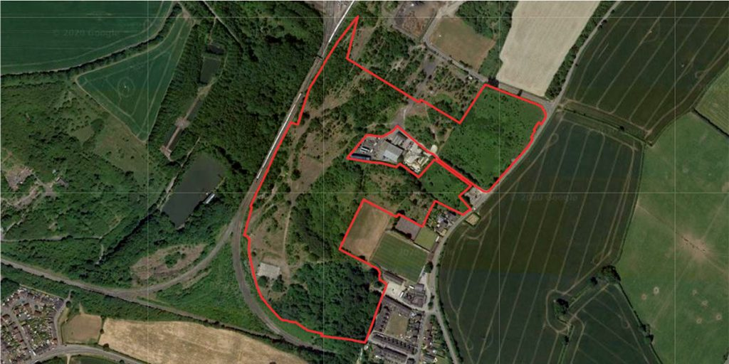 Rosconn Strategic Land Case Study Asfordby Hill Red line
