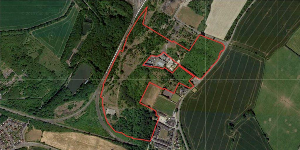 Rosconn Strategic Land Case Study Asfordby Hill Red line