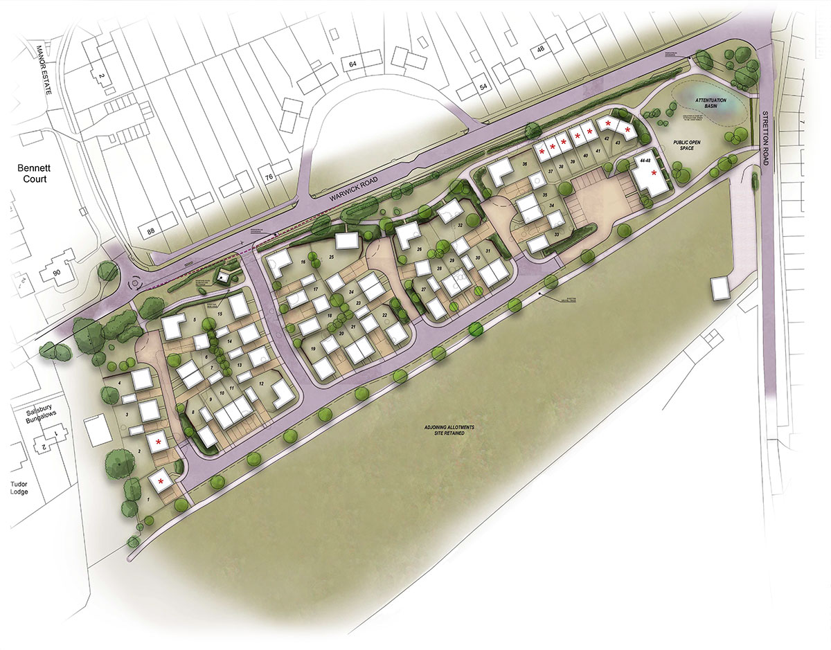 Rosconn Strategic Land Case Study Wolston plan