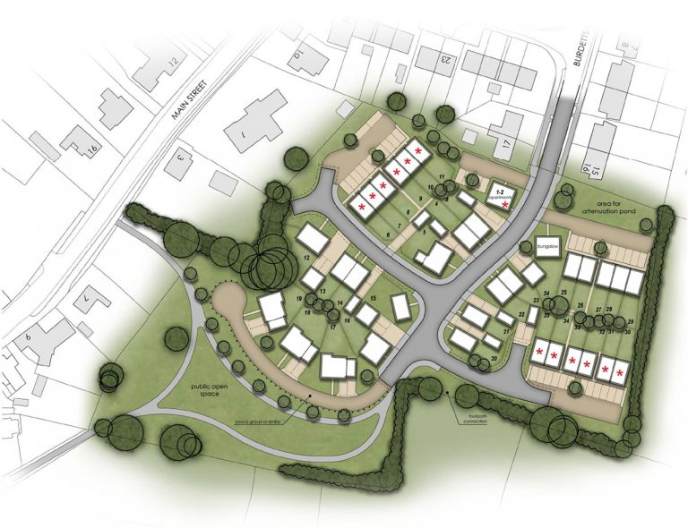 Gt Dalby Site Masterplan