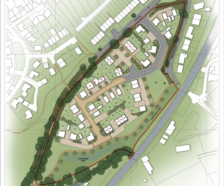 elsenham site plan