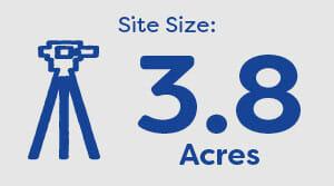 Barton Fields Welford size