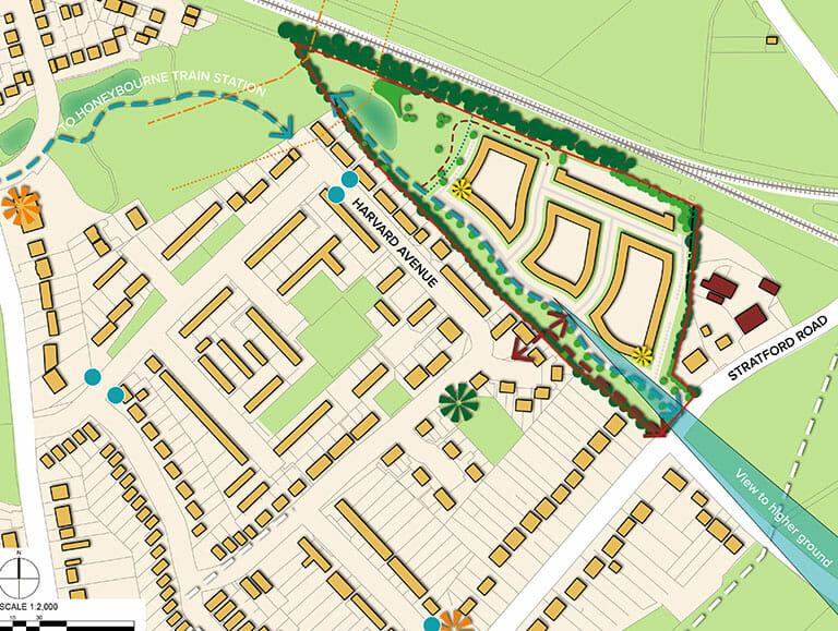 Honeybourne Plan 1