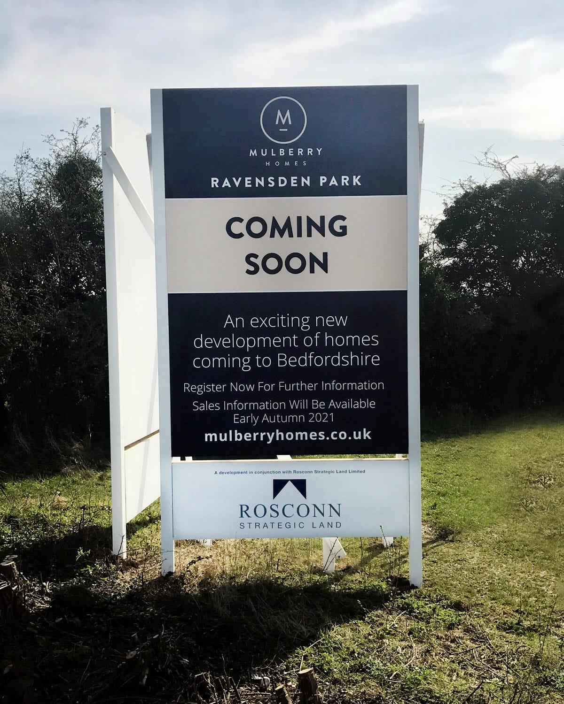 Graze Hill Development Signage
