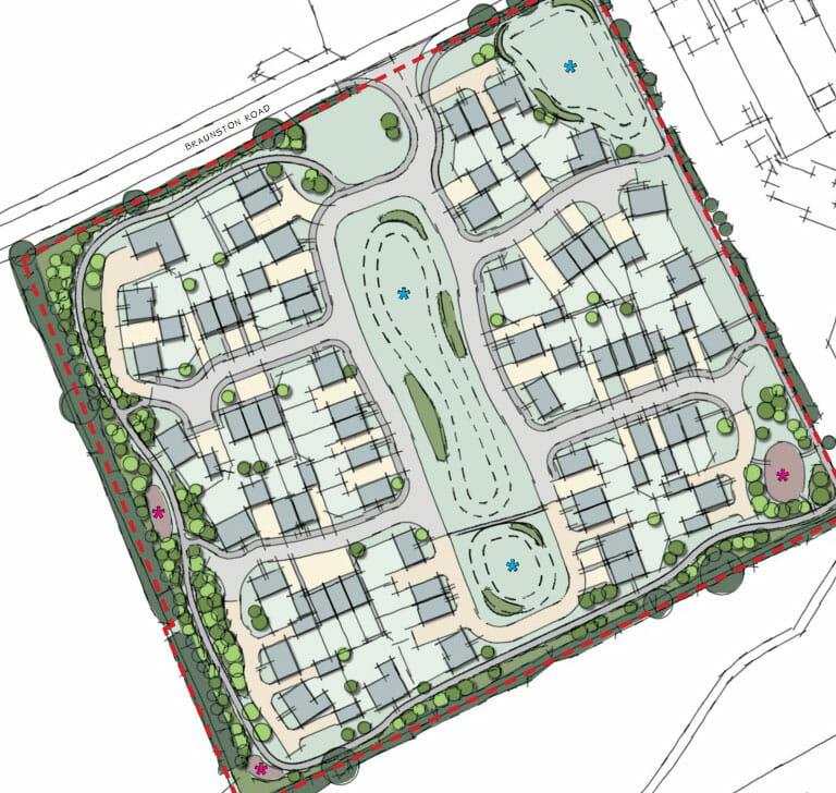 Oakham interactive plan